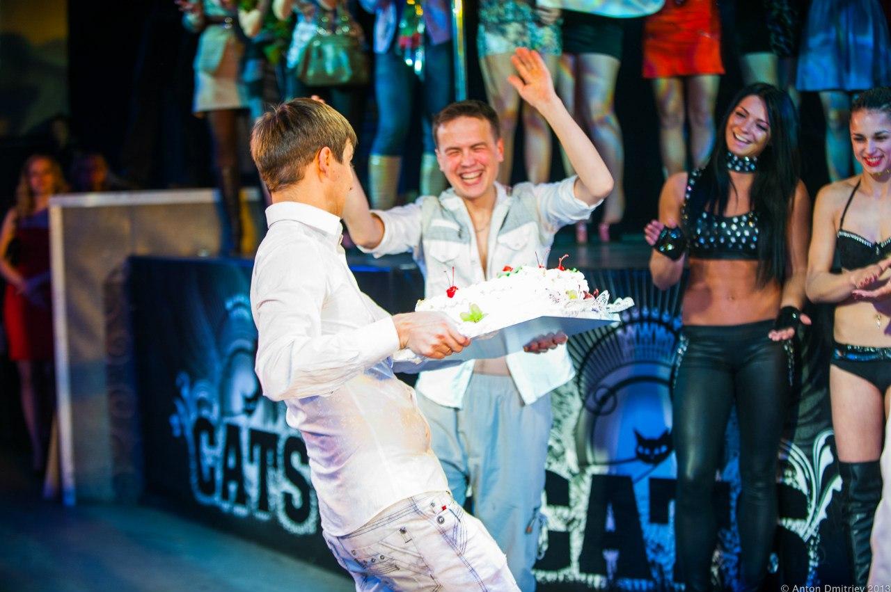 День рождения pole-dance студии «CATS» в клубе «R-16» - 2 года