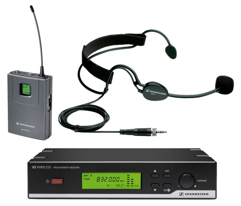 Аренда-радиогарнитуры-Sennheiser-XSW-52